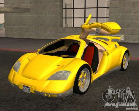 Conceptcar Nimble für GTA San Andreas zurück linke Ansicht