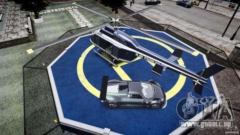 Gumpert Apollo Sport v1 2010 pour GTA 4 est une vue de dessous