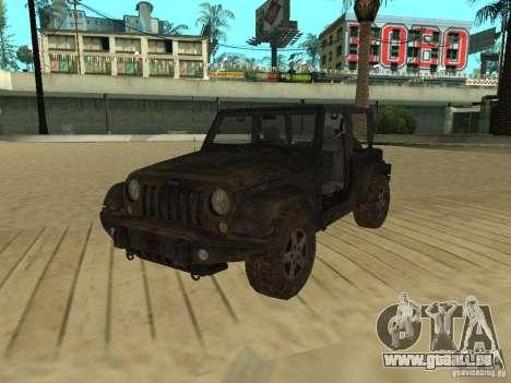 Jeep Wrangler SE pour GTA San Andreas