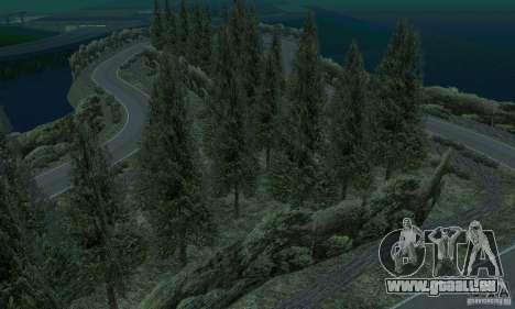 L'itinéraire du rallye pour GTA San Andreas huitième écran