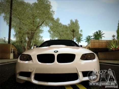 BMW E92 v2 Updated pour GTA San Andreas vue arrière