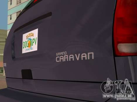Dodge Grand Caravan für GTA Vice City rechten Ansicht