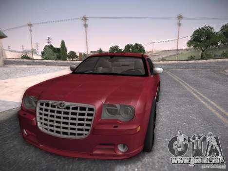 Chrysler 300C SRT8 pour GTA San Andreas sur la vue arrière gauche
