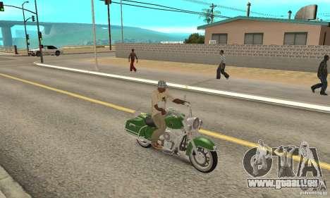 Harley Davidson Road King pour GTA San Andreas vue de droite