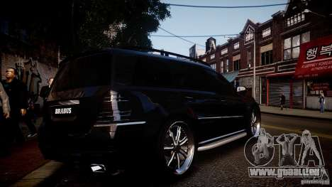 Mercedes-Benz GL450 Brabus Black Edition für GTA 4 rechte Ansicht