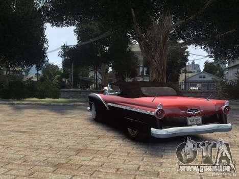 Ford Sunliner Custom 1956 pour GTA 4 est un droit