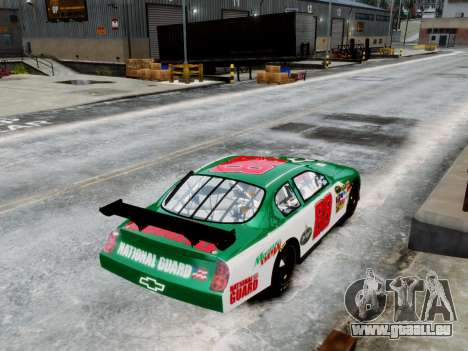 Chevrolet Monte Carlo SS 88 Nascar pour GTA 4 Vue arrière de la gauche