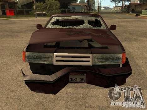 Dommages réalistes pour GTA San Andreas huitième écran