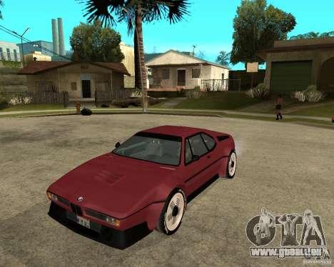 BMW M1 pour GTA San Andreas