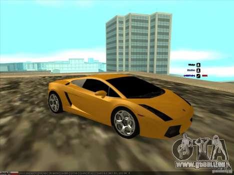 Lamborghini Gallardo für GTA San Andreas