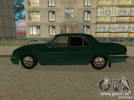 GAZ Wolga 31105 für GTA San Andreas rechten Ansicht