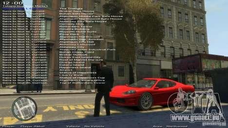 Einfache Trainer Version 6.3 für 1.0.1.0-1.0.0.4 für GTA 4 achten Screenshot