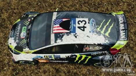 Ford Fiesta RS WRC Gymkhana v1.0 pour GTA 4 est un droit