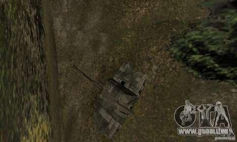 Msta-s 2, Winterversion für GTA San Andreas Rückansicht