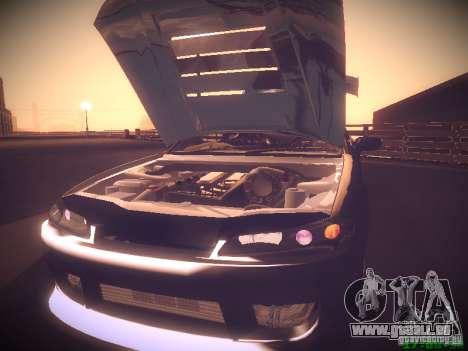 Nissan Silvia S15 für GTA San Andreas Innen