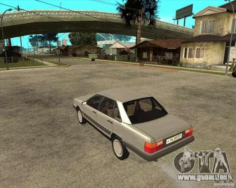 Audi 100 pour GTA San Andreas laissé vue