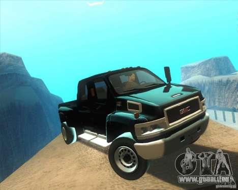 GMC Topkick C4500 2008 pour GTA San Andreas vue arrière