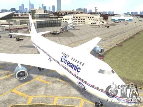 Oceanic Airlines für GTA 4 linke Ansicht
