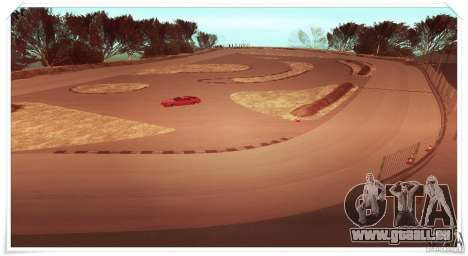 The Ebisu South Circuit pour GTA San Andreas deuxième écran