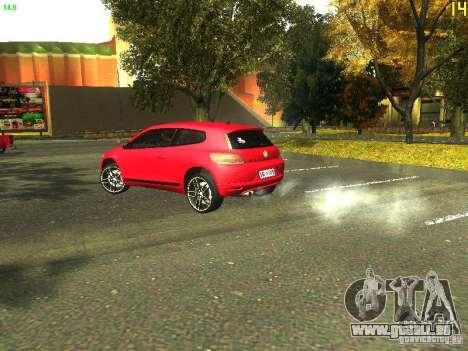 Volkswagen Scirocco 2009 pour GTA San Andreas vue de droite