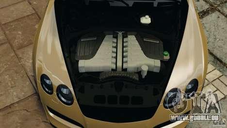 Bentley Continental GT Premier v1.0 pour GTA 4 vue de dessus
