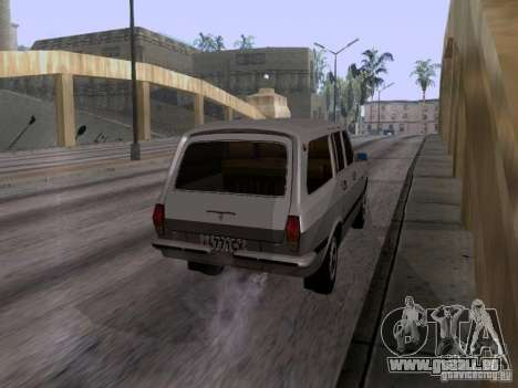 GAZ 24-12 SL Volga pour GTA San Andreas laissé vue
