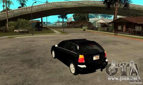 Chrysler Pacifica pour GTA San Andreas sur la vue arrière gauche