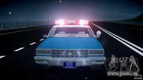 Chevrolet Impala Police 1983 v2.0 für GTA 4 Innen