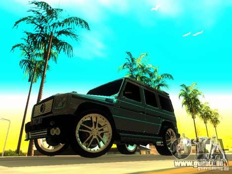 Mercedes-Benz G500 ART pour GTA San Andreas