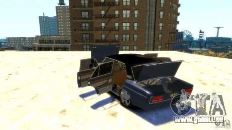 VAZ 2103 Street Tuning pour GTA 4 vue de dessus