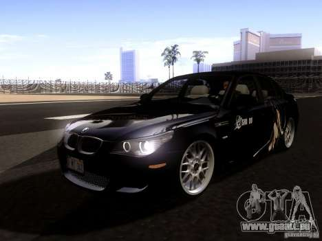 BMW M5 E60 2009 pour GTA San Andreas