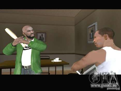 New Sweet, Smoke and Ryder v1.0 für GTA San Andreas sechsten Screenshot