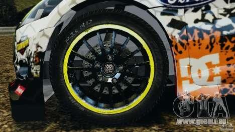Ford Fiesta RS WRC Gymkhana v1.0 für GTA 4 Rückansicht