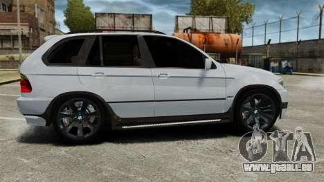 BMW X5 4.8IS BAKU pour GTA 4 est une gauche