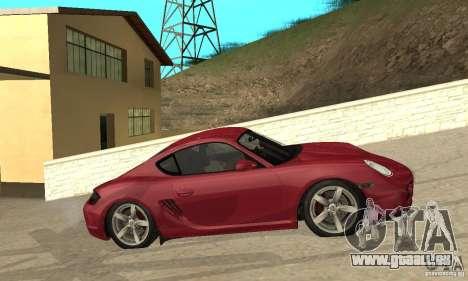 Porsche Cayman S für GTA San Andreas linke Ansicht