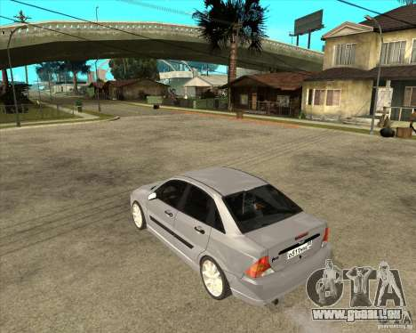 Ford Focus Sedan für GTA San Andreas linke Ansicht