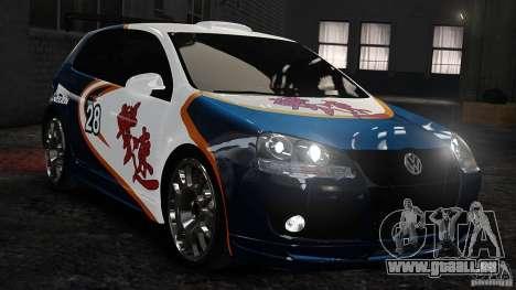 Volkswagen Golf V GTI Blacklist 15 Sonny v1.0 für GTA 4