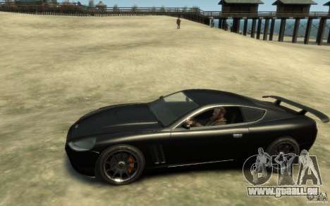 Aston Martin DB9 Super GTR beta pour GTA 4 est une gauche