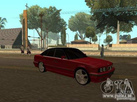 BMW 540i E34 für GTA San Andreas