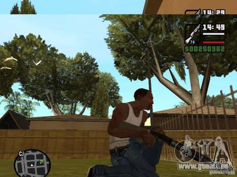 Fusil de chasse pour GTA San Andreas deuxième écran