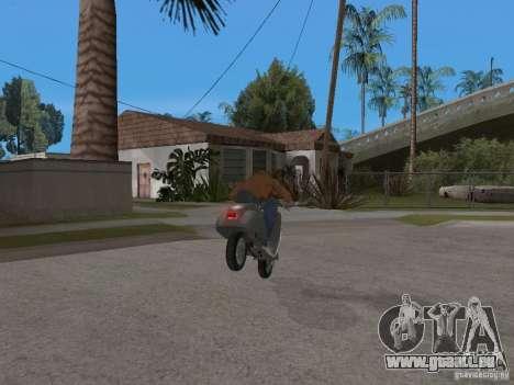 Vyatka VP 150 pour GTA San Andreas laissé vue