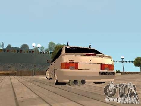 ВАЗ 2114 BÊTE pour GTA San Andreas vue de droite