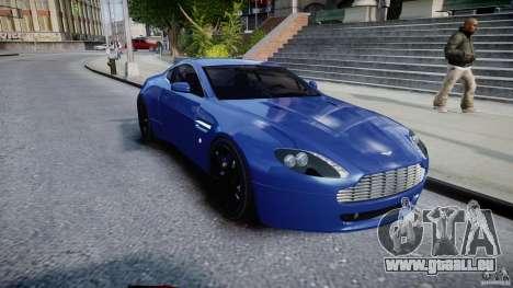 Aston Martin V8 Vantage V1.0 pour GTA 4 Vue arrière