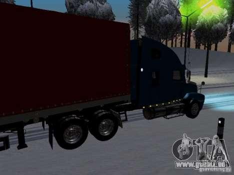 Freightliner Century für GTA San Andreas zurück linke Ansicht