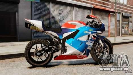Honda CBR 600RR für GTA 4 linke Ansicht