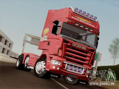 Scania R620 Brahma für GTA San Andreas Rückansicht