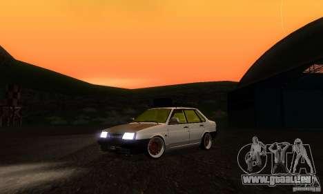 Look Rat 21099 VAZ pour GTA San Andreas