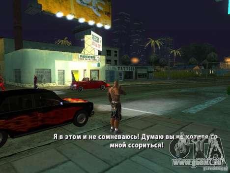 Killer Mod pour GTA San Andreas neuvième écran