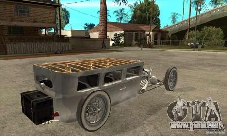 HotRod sedan 1920s für GTA San Andreas rechten Ansicht