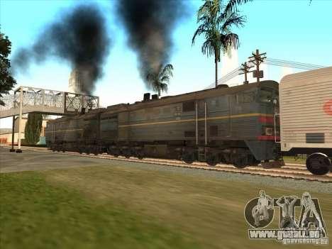 2te10v-4036 pour GTA San Andreas sur la vue arrière gauche